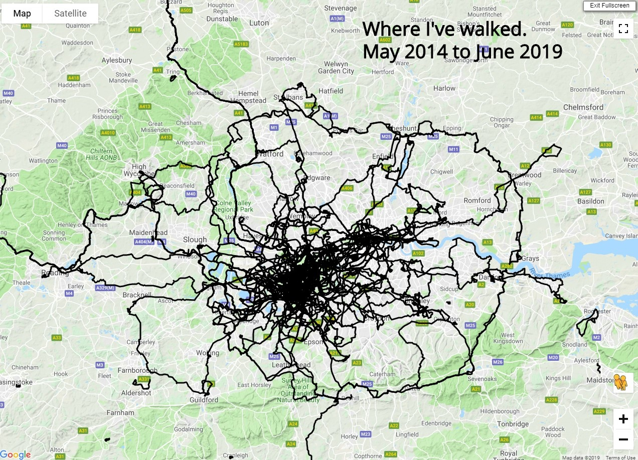 Where I have walked