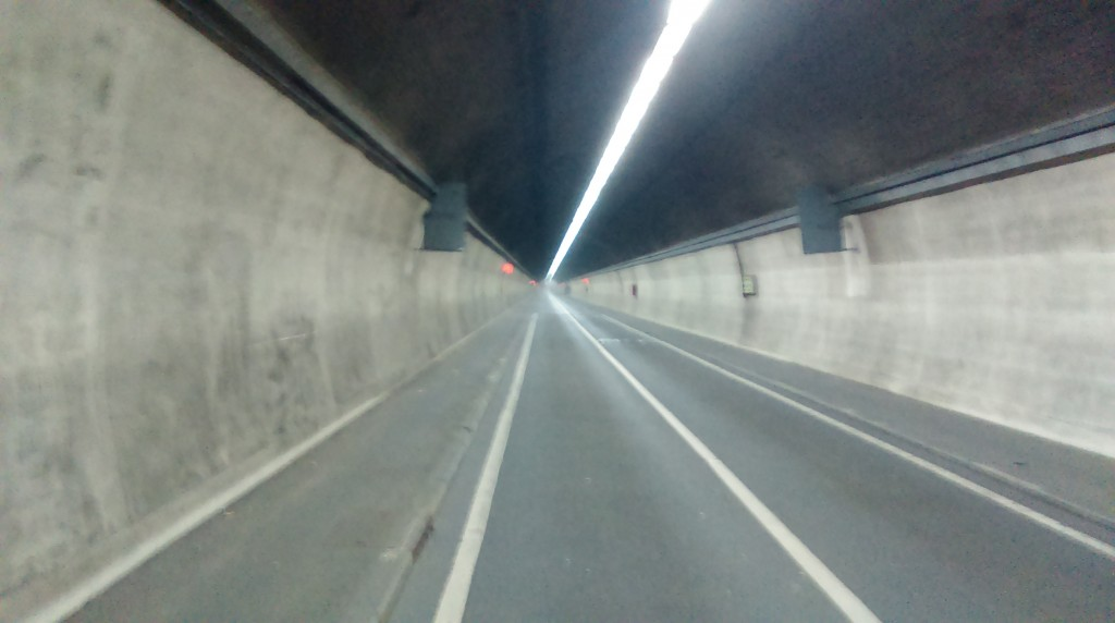All alone in the Rotherhithe Tunnel