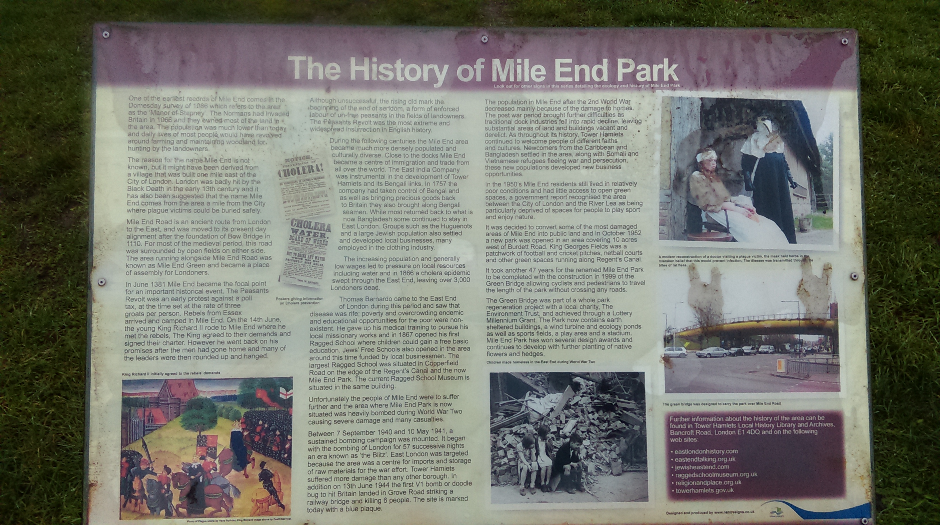 The history of Mile End Park