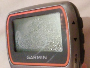Fogged Garmin Forerunner 310XT