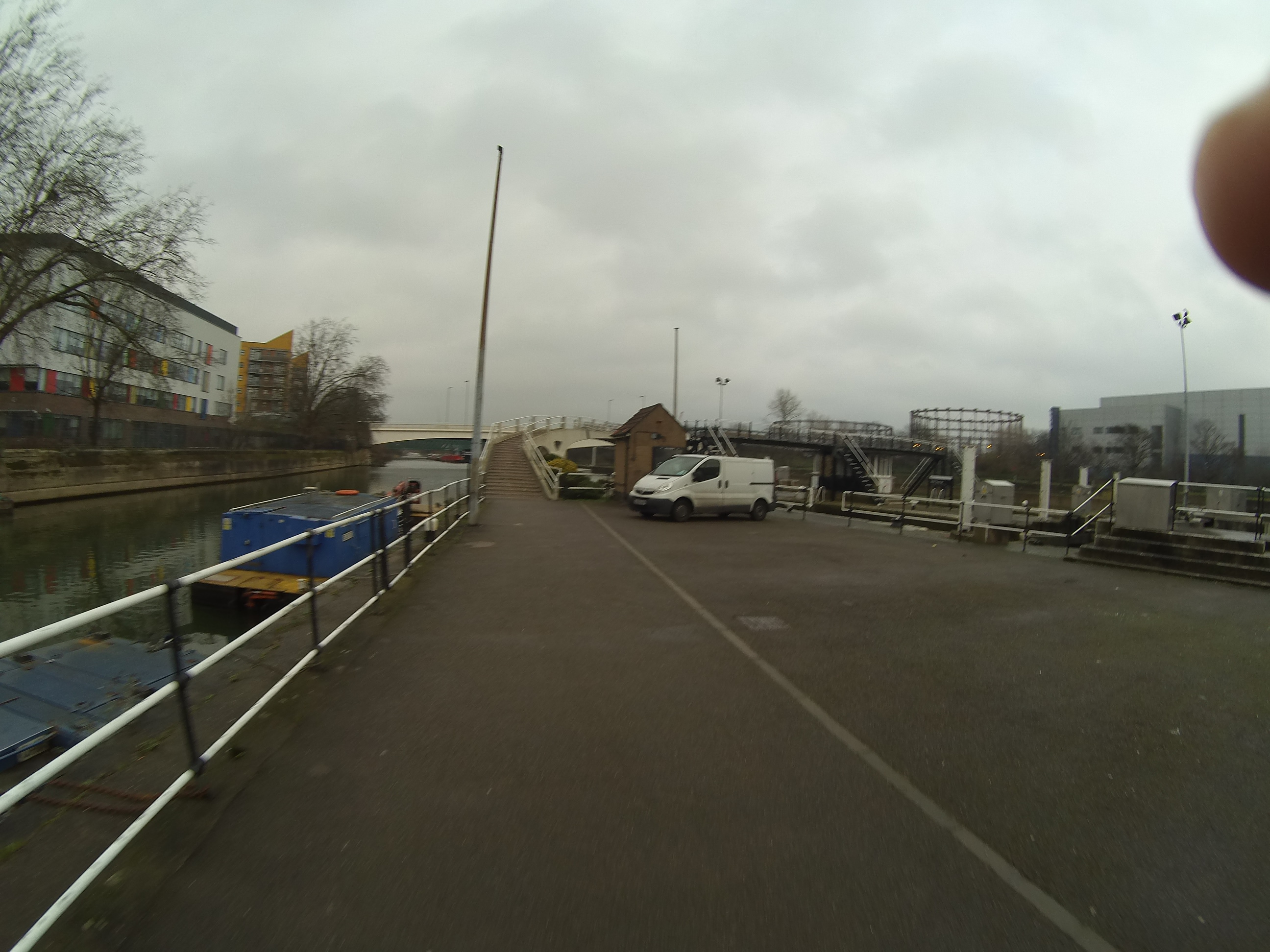 Beside a canal in North West London3