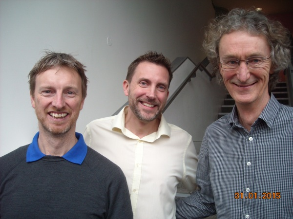 Three 2014 Centurions: Richard McChesney C1131, Mark Haynes C1134 and Tony Hill C1133