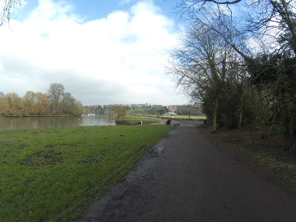 The River Thames heading towards Richmond