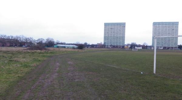 A muddy Wanstead Flats