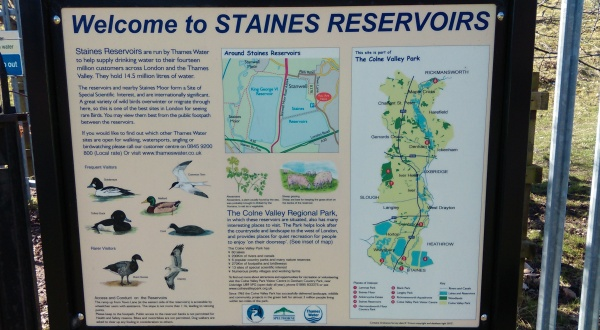 Stains Reservoir