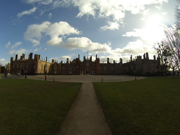 Hampton Court Palace - the former home of King Henry the VIII