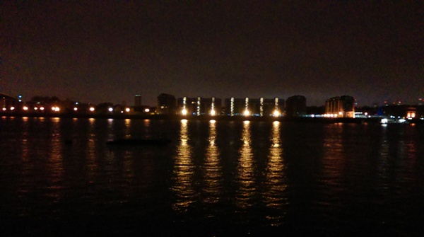 And this photo is looking across the river from somewhere near Canary Wharf