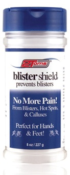 Preventing blisters when walking and running