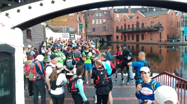 GUCR just before the start
