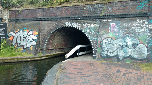 GUCR tunnel in Birmingham