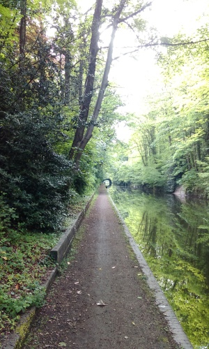 Grand Union Canal at about 8 miles
