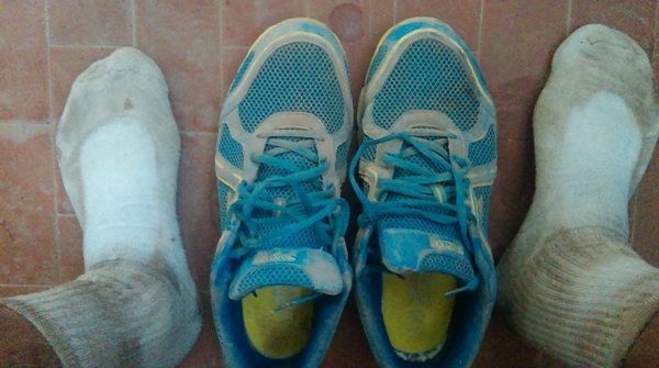 These feet carried me 283km!