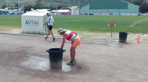 Privas 72 hour race - water bucket