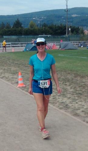 Australian six day runner Sarah Barnett