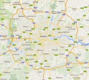 The M25 - a lap of greater London
