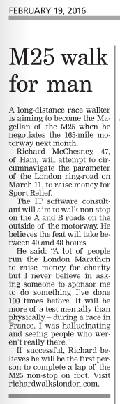 Surrey Comet article 19-2-16