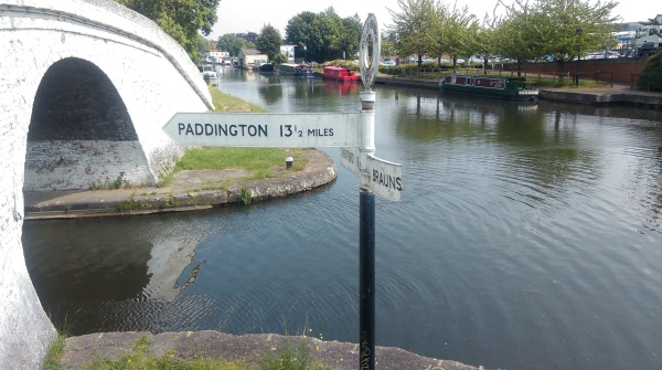 Grand Union Canal Race - Paddington turn off