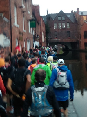 Grand Union Canal Race - first tunnel