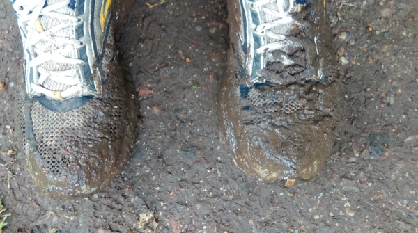 Mud on the Grand Union Canal