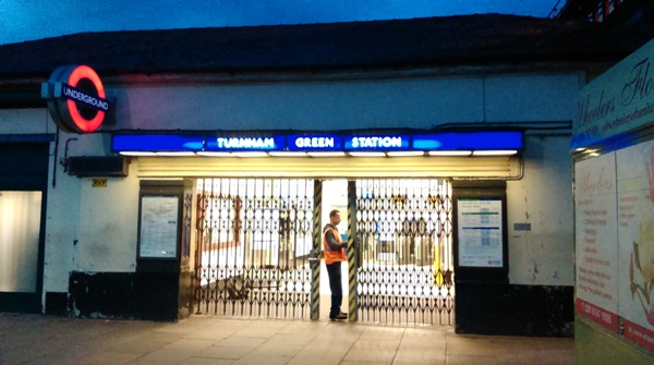 Turnham Green Station
