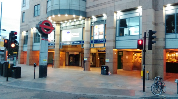 Hammersmith Station - District and Piccadilly Lines