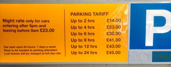 Not Free Parking