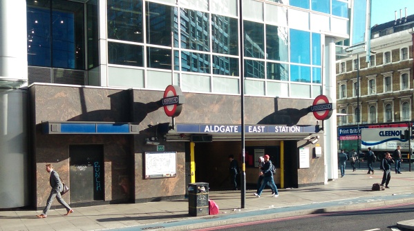 Aldgate East Station