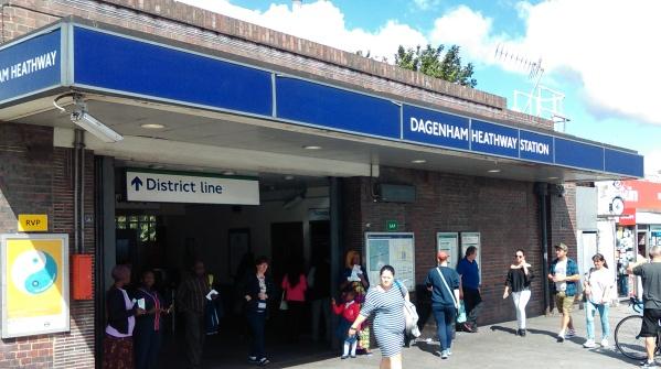 Dagenham Heathway Station
