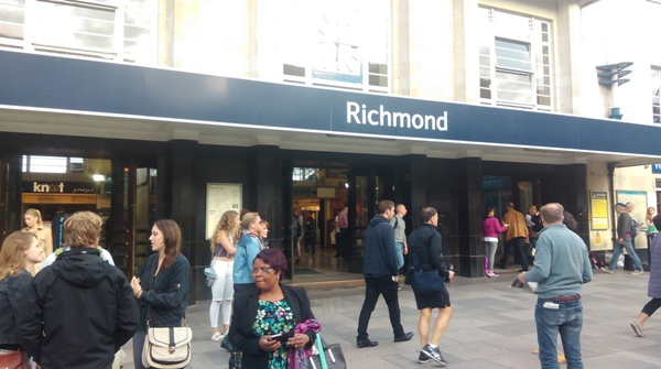 Richmond Station at end of day 1