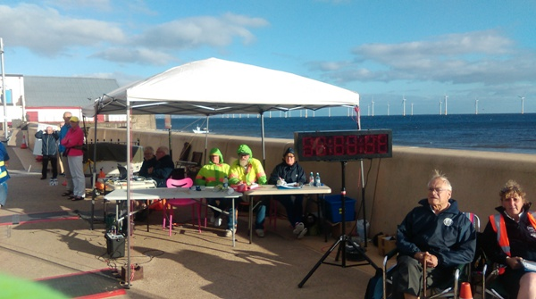 Timeskeepers at the Redcar Blast