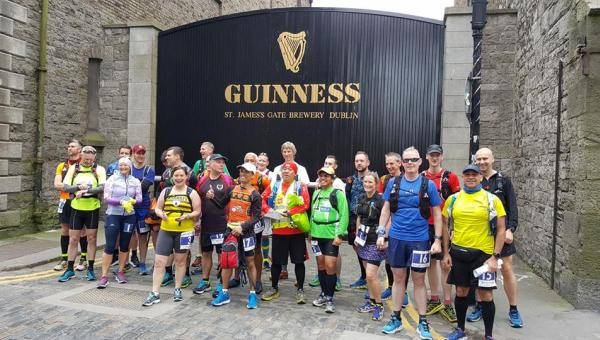 Dublin to Belfast Ultra race start