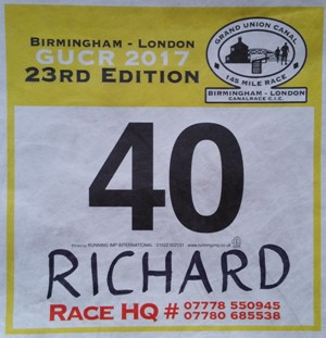 GUCR race number