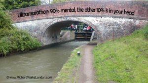 Ultramarathon - 90% mental, 10% in your head