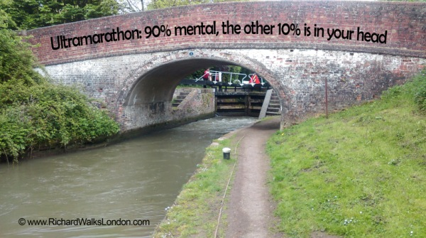 Ultramarathon - 90% mental, 10% in your head