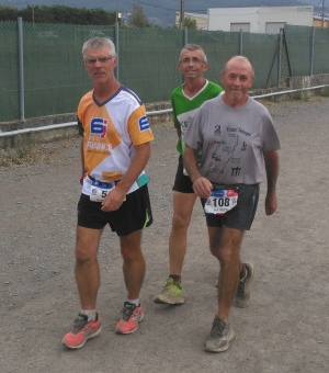 Privas 6 day race - top 3 walkers
