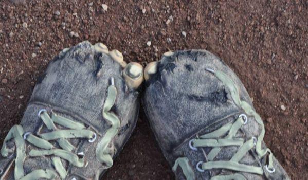 Sylvie's feet