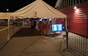 Timing Tent Privas 6 day race