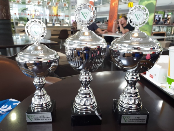 Continental Centurions Race trophies