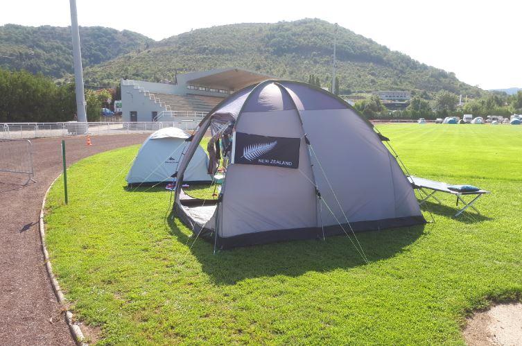 6 jours de france 2018 - my tent