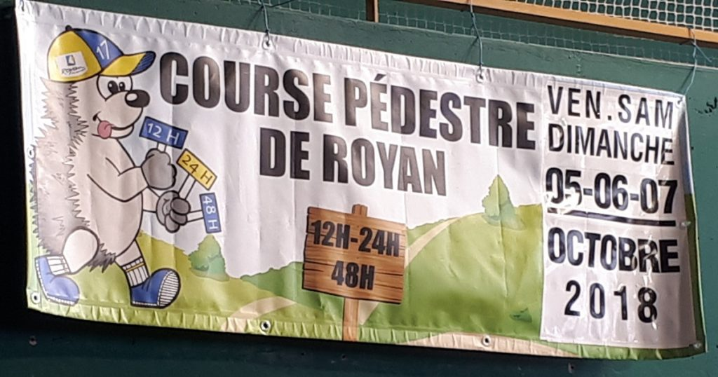 Royan 48 hour race banner