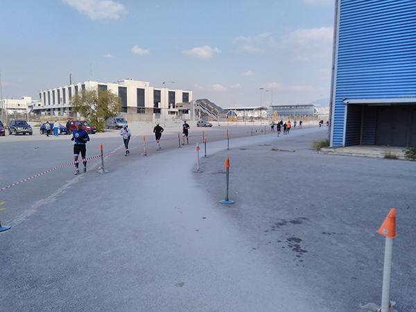 Greek Ultramarathon Festival course
