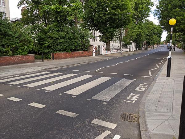 Abbey Road pedestrian crossing London