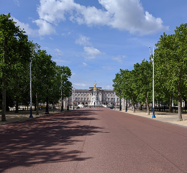 Pall Mall during lockdown - 16th May 2020