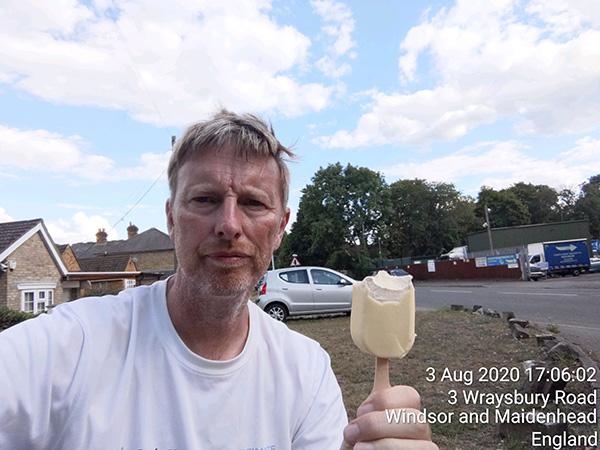 Surrey circumnavigation Wraysbury