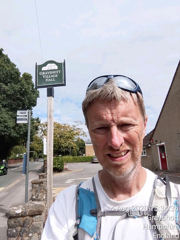 Surrey circumnavigation - finishers selfie