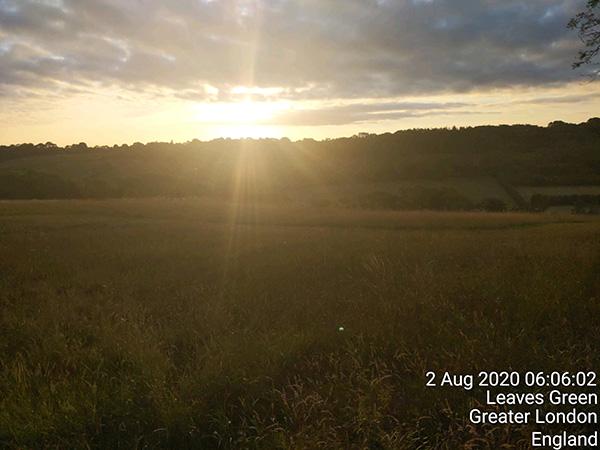 Surrey circumnavigation - sunrise
