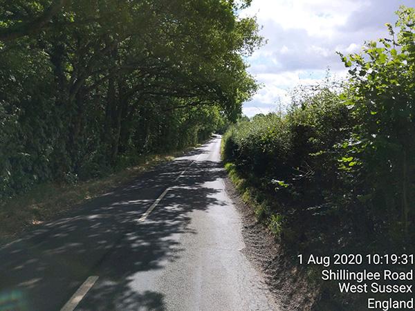 Surrey circumnavigation