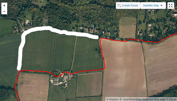 Surrey circumnavigation vineyard bypass