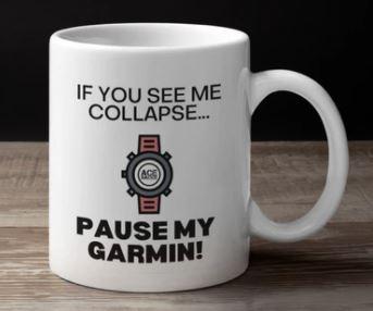 If I collapse Pause my Garmin