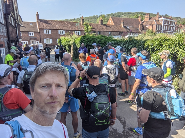 Pre-race briefing - Thames Ring 250